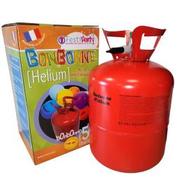 Bonbonne jetable de 0,42 m³ d'hélium compressé