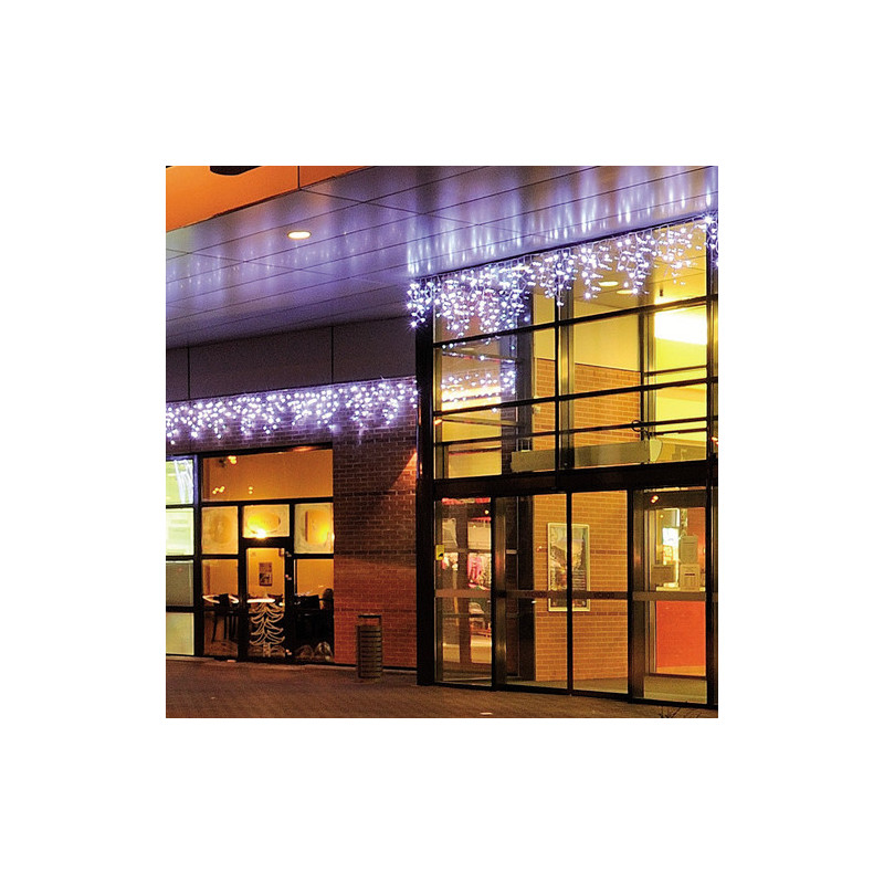 "Rideau lumineux ""ICICLE LED"" 300 x 70 cm -blanc froid"
