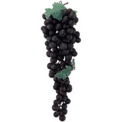 Grappe de raisins noirs de 45 cm