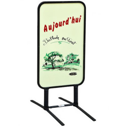 Chevalet extérieur effaçable de fabrication Française