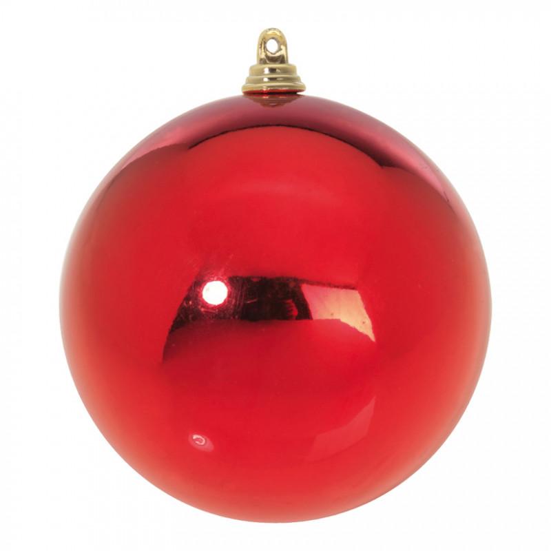 Boule de Noël Ø 140 mm rouge