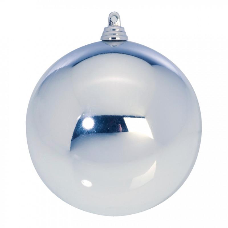 Boule de Noël Ø 140 mm coloris silver