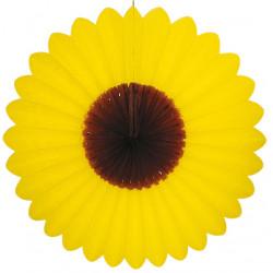 Fleur jaune marron Ø 60 cm