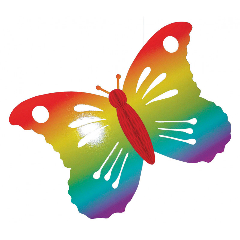Papillon carton 68 cm