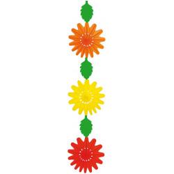 Fleurs papier hauteur 230cm