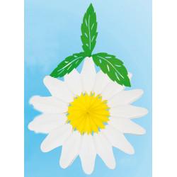Fleur suspendue blanche...