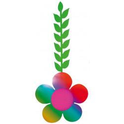 Fleur suspendue papier 115 cm