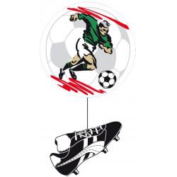 Suspension 55 cm ballon + chaussures de football