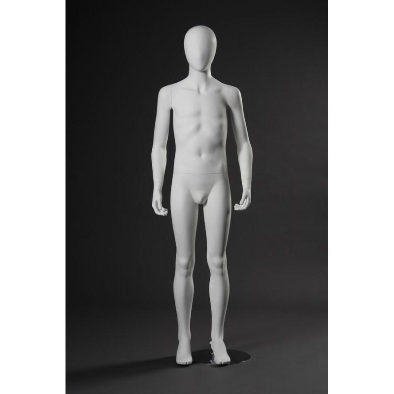 Mannequin Junior Garçon 10-12 ans Tête stylisée